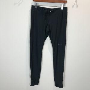 Women's Sz L Dk Navy Nike Dri Fit Running Tights